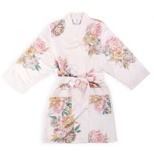 Kimono Blissful Blooms Blush gepersonaliseerd