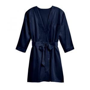 Zijden kimono navy met naam