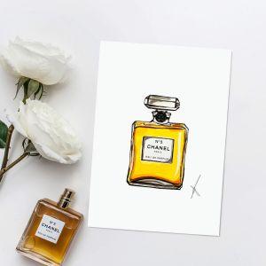 Persoonlijke illustratie parfum Sophie de Ruiter