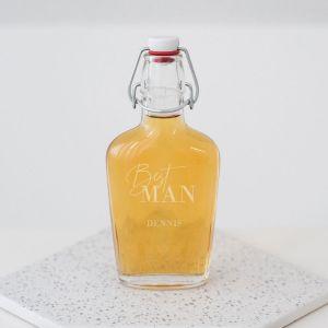 Whisky beugelfles best man sierlijk