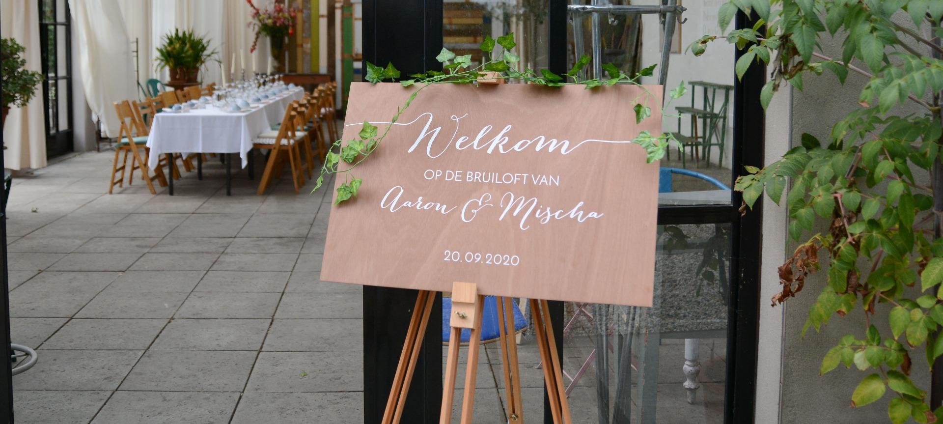 Verrassend De mooiste & hipste bruiloft decoratie | Weddingdeco.nl XZ-96
