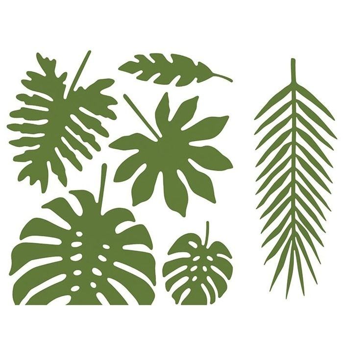 Decoratie bladeren Aloha Collectie