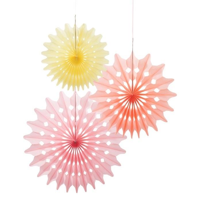 Paper fans sorbet mix
