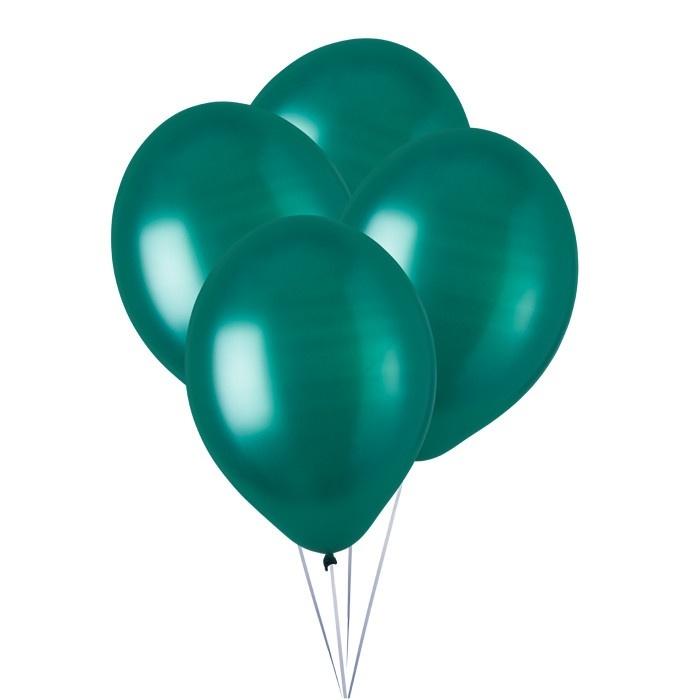 ballonnen donkergroen