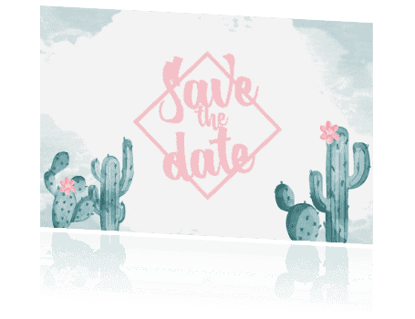 Save the date Palm springs