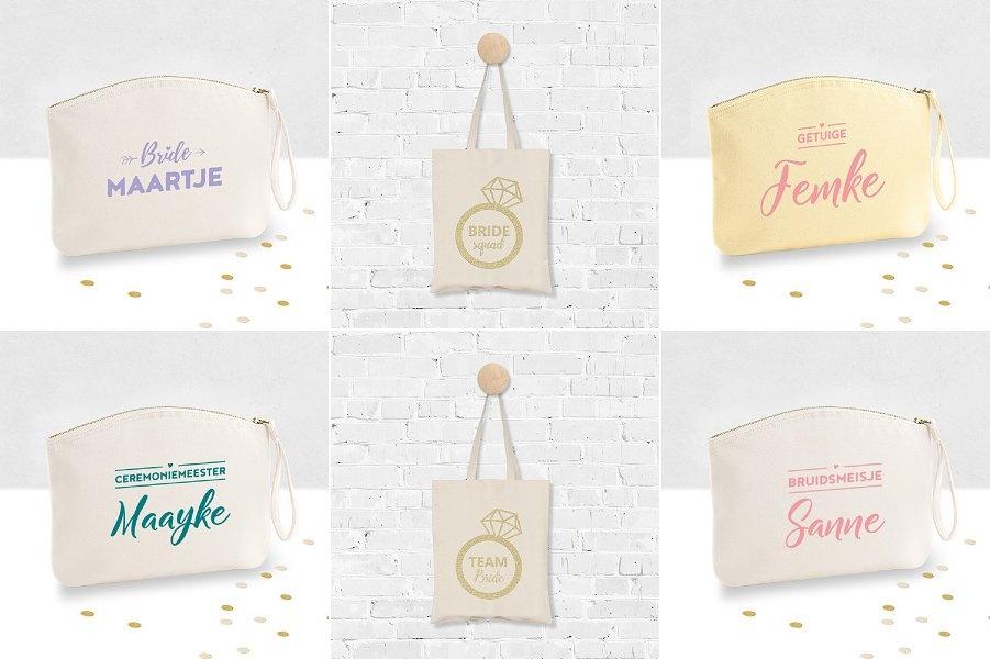 Persoonlijk cadeau: tassen