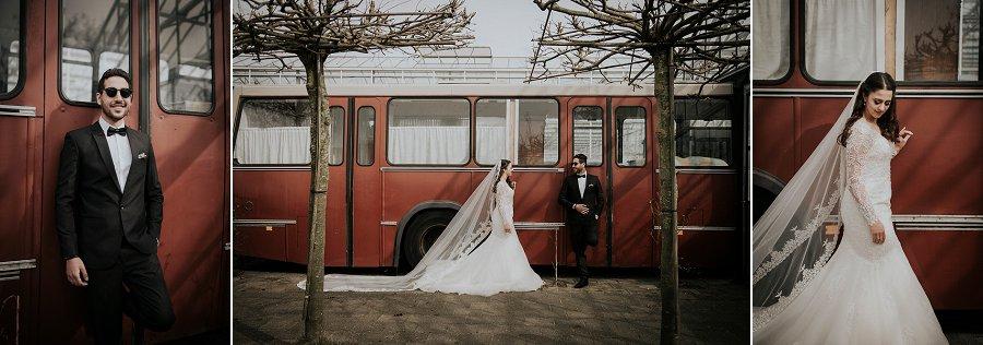 De bruiloft van blogger Souraya Hassan in een botanische kas