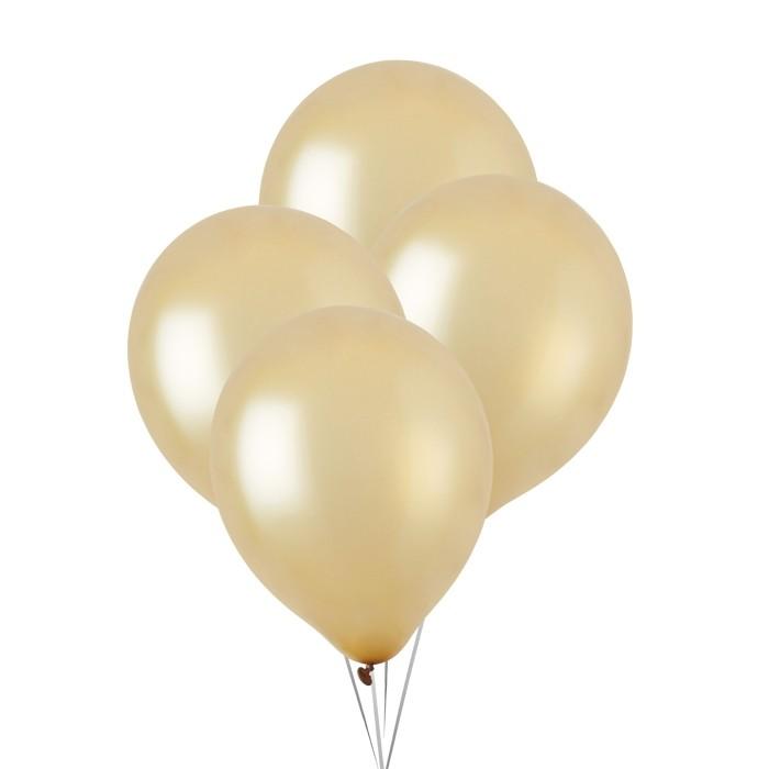 Metallic Ballonnen goud