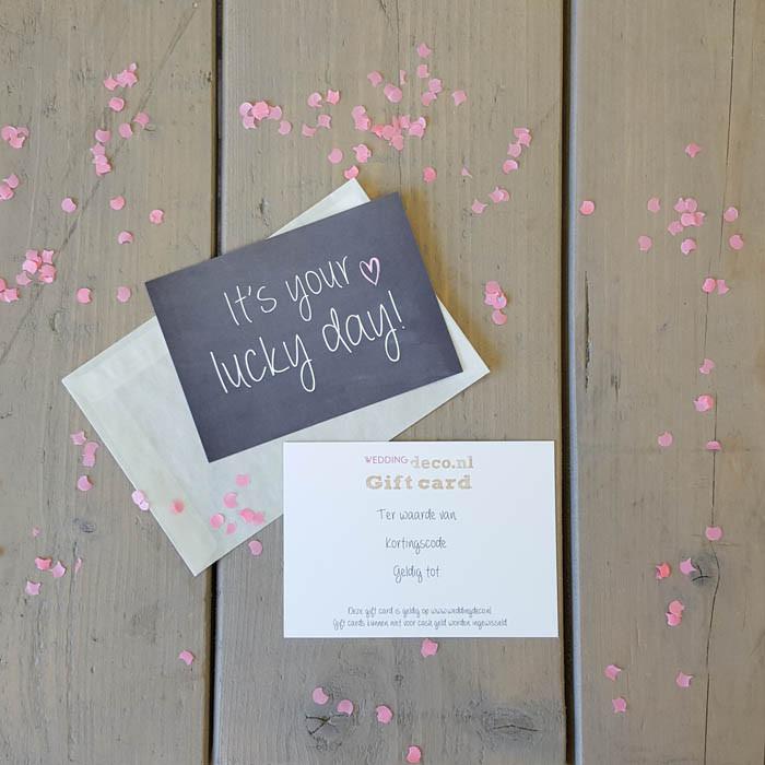 Weddingdeco.nl Gift Card