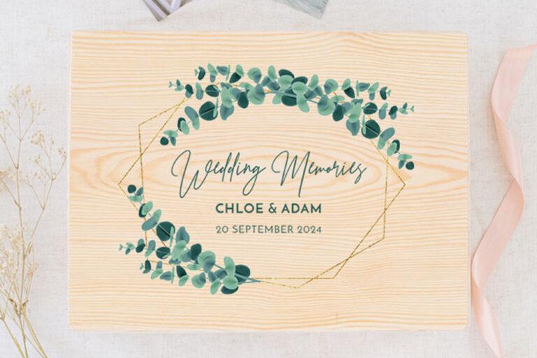 Herinneringen van de bruiloft bewaren
