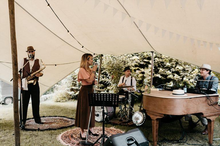 Muziek op de bruiloft