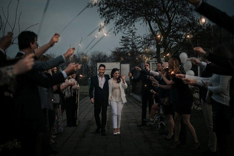 Inspiratie voor een originele bruiloft exit