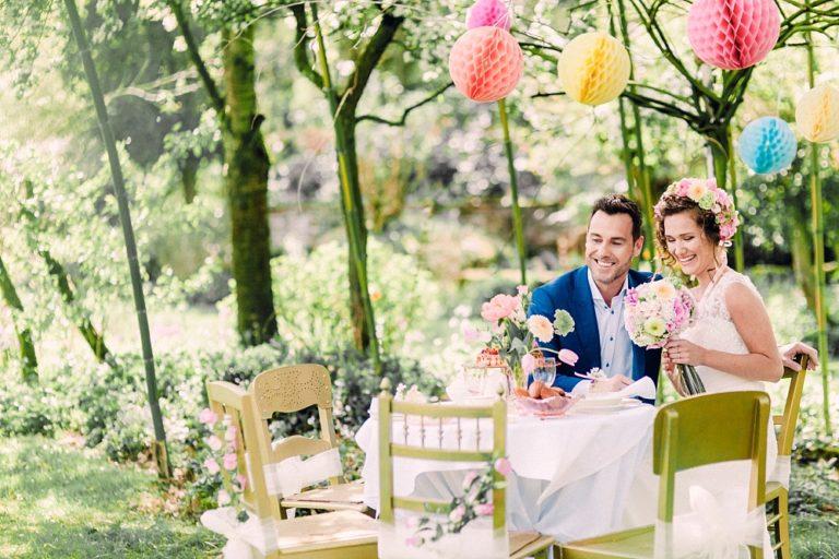Inspiratie: Luxe Bohemian styled wedding