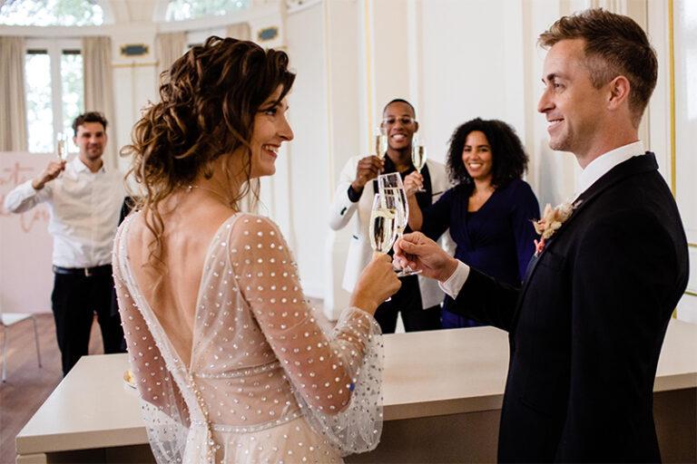 Inspiratie: COVID-proof trouwen in het Wereldmuseum in Rotterdam